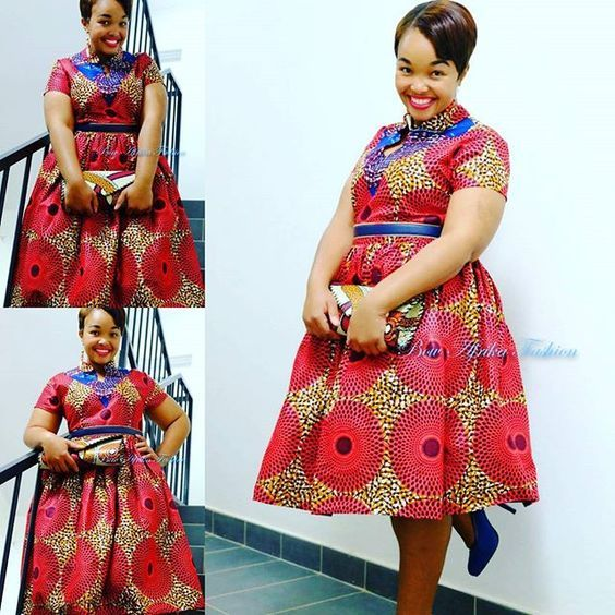 Kitenge Dresses for Plus Size Ladies