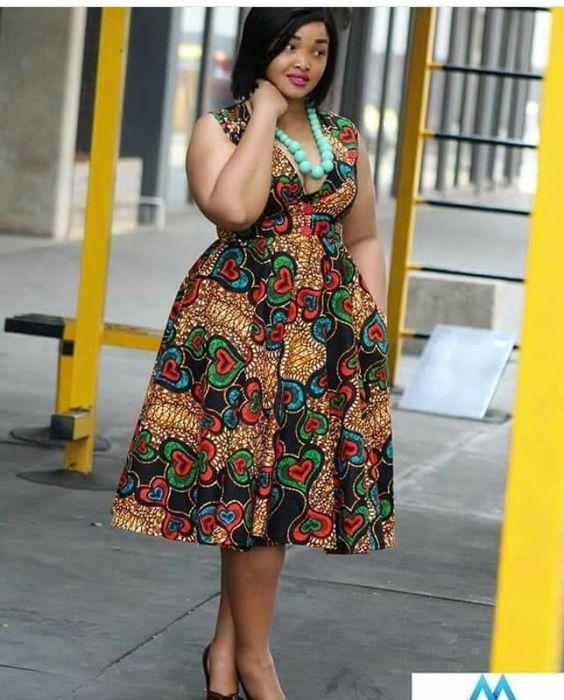 Kitenge Dresses For Plus Size Ladies Best Gorgeous Designs For Ladies Xclusive Styles