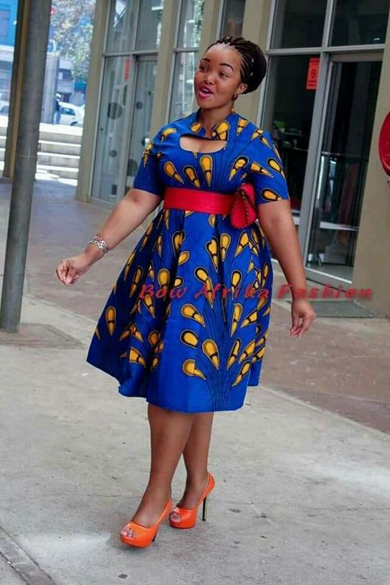 Kitenge Dresses for Plus Size Ladies