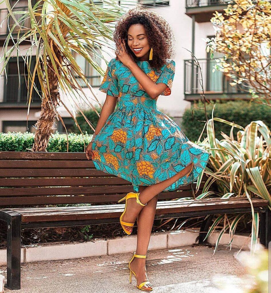 Latest Ankara Short Gown Styles 2019